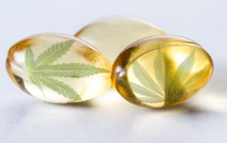 CBD oil soft gel